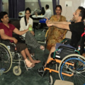 Wheel Chair activity Spinal cord Injury Patients