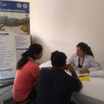 patients consulting a doctor
